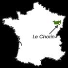 Le Chorin sur la carte des Vosges